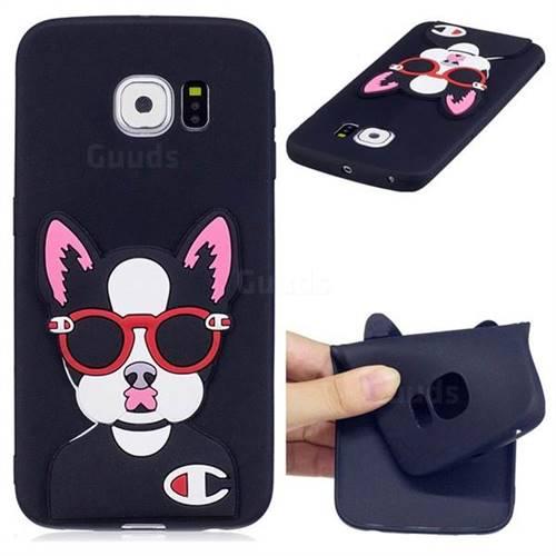 Glasses Gog Soft 3D Silicone Case for Samsung Galaxy S7 Edge s7edge