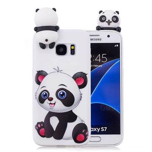 new arrival c3571 ca393 Panda Girl Soft 3D Climbing Doll Soft Case for Samsung Galaxy S7 Edge s7edge