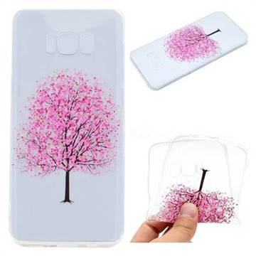 Petals Tree Super Clear Soft TPU Back Cover for Samsung Galaxy S8