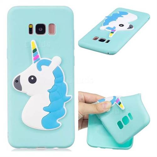 Unicorn Soft 3D Silicone Case for Samsung Galaxy S8