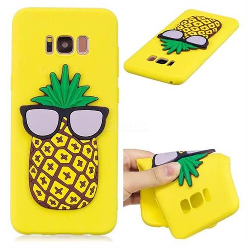 Pineapple Soft 3D Silicone Case for Samsung Galaxy S8