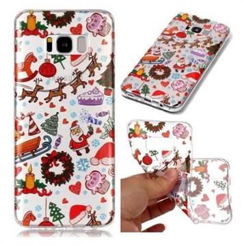 Christmas Playground Super Clear Soft TPU Back Cover for Samsung Galaxy S8 Plus S8+