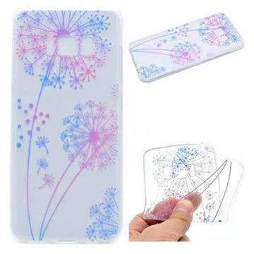 Rainbow Dandelion Super Clear Soft TPU Back Cover for Samsung Galaxy S8 Plus S8+
