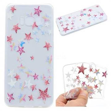 Pentagram Super Clear Soft TPU Back Cover for Samsung Galaxy S8 Plus S8+