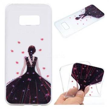 Wedding Girl Super Clear Soft TPU Back Cover for Samsung Galaxy S8 Plus S8+