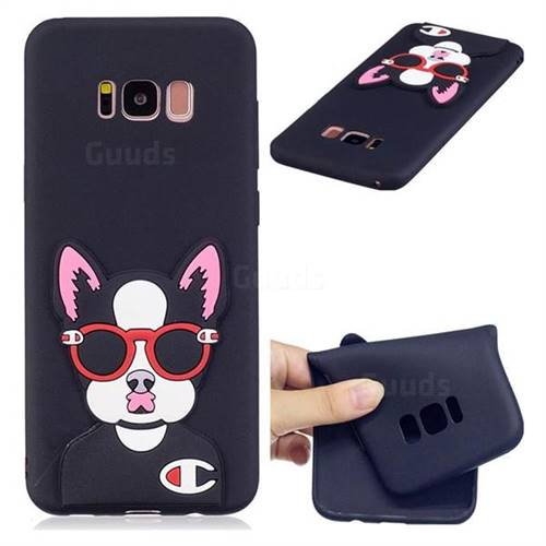 Glasses Gog Soft 3D Silicone Case for Samsung Galaxy S8 Plus S8+