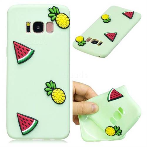 Watermelon Pineapple Soft 3D Silicone Case for Samsung Galaxy S8 Plus S8+