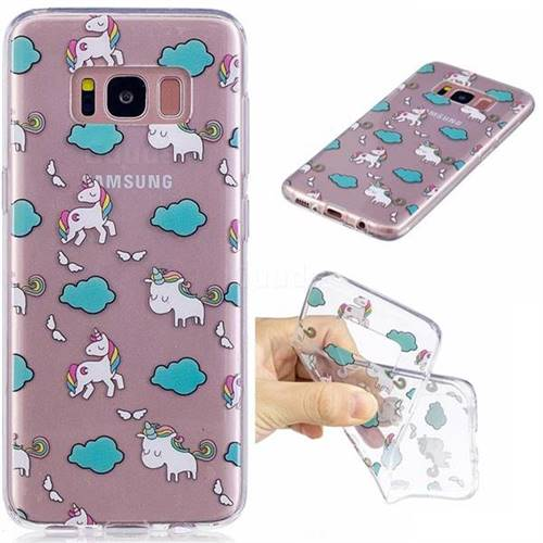 Cloud Horse Super Clear Soft TPU Back Cover for Samsung Galaxy S8 Plus S8+