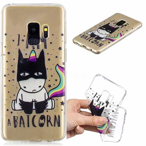 Batman Clear Varnish Soft Phone Back Cover for Samsung Galaxy S9