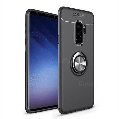 quality design 94690 89c14 Auto Focus Invisible Ring Holder Soft Phone Case for Samsung Galaxy S9  Plus(S9+) - Black - TPU Case - Guuds
