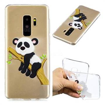 Tree Panda Super Clear Soft TPU Back Cover for Samsung Galaxy S9 Plus(S9+)