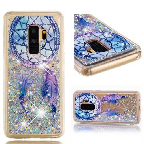 Dynamic Liquid Glitter Quicksand Soft TPU Case for Samsung Galaxy S9 Plus(S9+) - Fantasy Wind Chimes