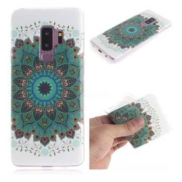 watch c50b7 e5dbe Peacock Mandala IMD Soft TPU Cell Phone Back Cover for Samsung Galaxy S9  Plus(S9+)