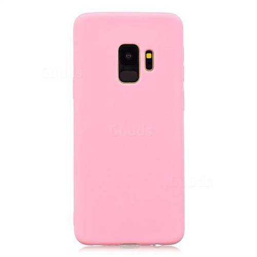 huge selection of bdffe 874ce Candy Soft Silicone Protective Phone Case for Samsung Galaxy S9 Plus(S9+) -  Dark Pink