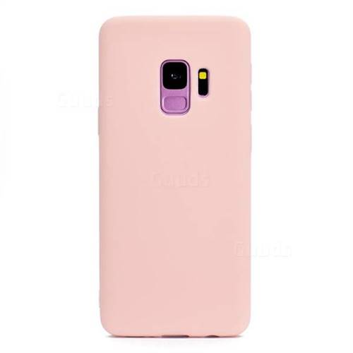 100% authentic 881b3 c57fa Candy Soft Silicone Protective Phone Case for Samsung Galaxy S9 Plus(S9+) -  Light Pink