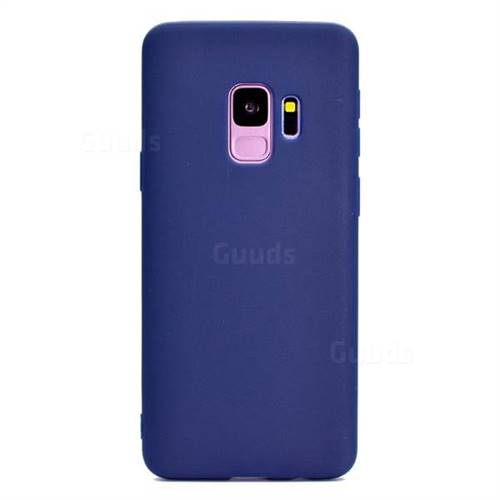 size 40 93772 66e62 Candy Soft Silicone Protective Phone Case for Samsung Galaxy S9 Plus(S9+) -  Dark Blue