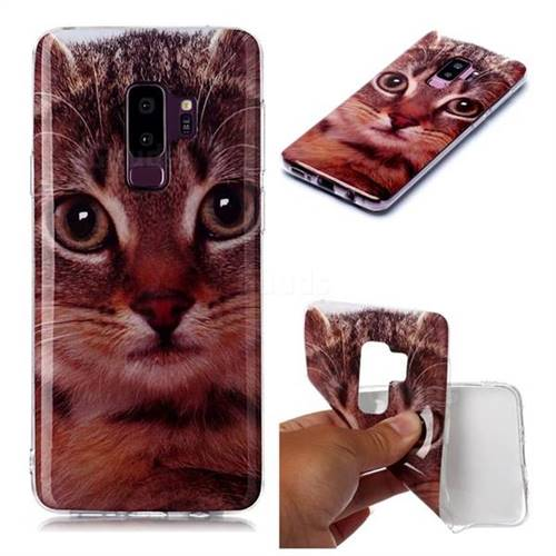Garfield Cat Soft TPU Cell Phone Back Cover for Samsung Galaxy S9 Plus(S9+)