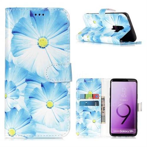 Orchid Flower PU Leather Wallet Case for Samsung Galaxy S9 Plus(S9+)