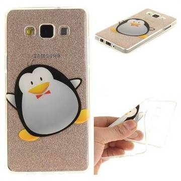 huge discount 07c59 5f0b3 Cartoon Penguin Super Clear Soft TPU Back Cover for Samsung Galaxy A3 2015  A300