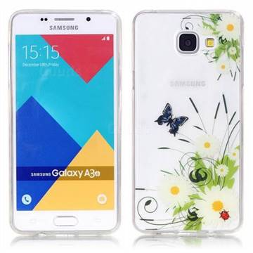 sports shoes 7516f c34d4 Chrysanthemum Super Clear Soft TPU Back Cover for Samsung Galaxy A3 2016  A310