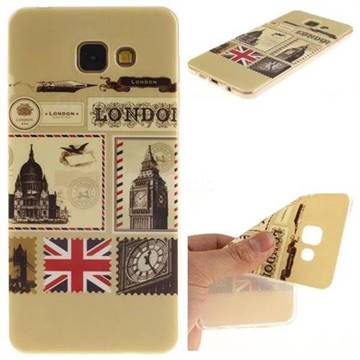 buy online 1184f 78e11 London Envelope IMD Soft TPU Back Cover for Samsung Galaxy A3 2016 A310