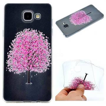 Petals Tree Super Clear Soft TPU Back Cover for Samsung Galaxy A3 2016 A310