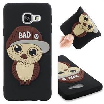 Bad Boy Owl Soft 3D Silicone Case for Samsung Galaxy A3 2016 A310 - Black