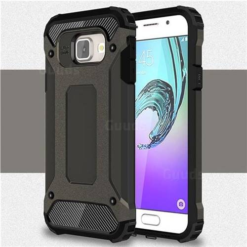 King Kong Armor Premium Shockproof Dual Layer Rugged Hard Cover for Samsung Galaxy A3 2016 A310 - Bronze