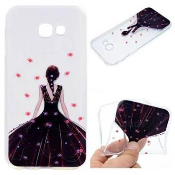 Wedding Girl Super Clear Soft TPU Back Cover for Samsung Galaxy A3 2017 A320