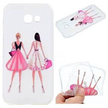 Maiden Honey Super Clear Soft TPU Back Cover for Samsung Galaxy A3 2017 A320