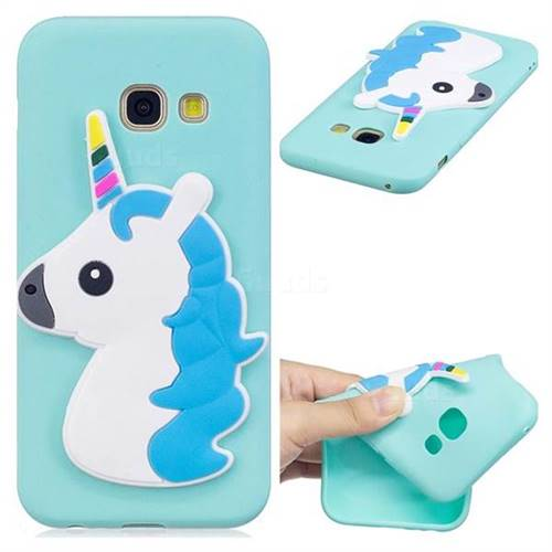 Unicorn Soft 3D Silicone Case for Samsung Galaxy A3 2017 A320
