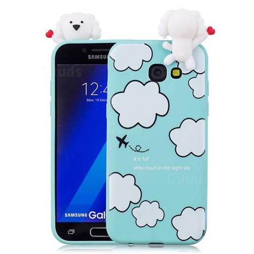 info for 3d0d8 8843b Cute Cloud Girl Soft 3D Climbing Doll Soft Case for Samsung Galaxy A3 2017  A320