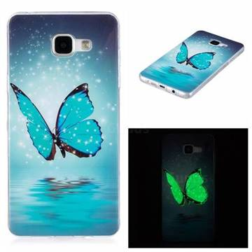 pretty nice 9e540 acdf1 Butterfly Noctilucent Soft TPU Back Cover for Samsung Galaxy A5 2016 A510