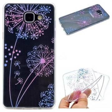 Rainbow Dandelion Super Clear Soft TPU Back Cover for Samsung Galaxy A5 2016 A510