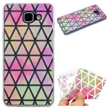 Rainbow Triangle Super Clear Soft TPU Back Cover for Samsung Galaxy A5 2016 A510