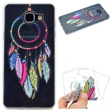 Rainbow Campanula Super Clear Soft TPU Back Cover for Samsung Galaxy A5 2016 A510