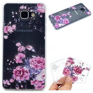 Peony Super Clear Soft TPU Back Cover for Samsung Galaxy A5 2016 A510