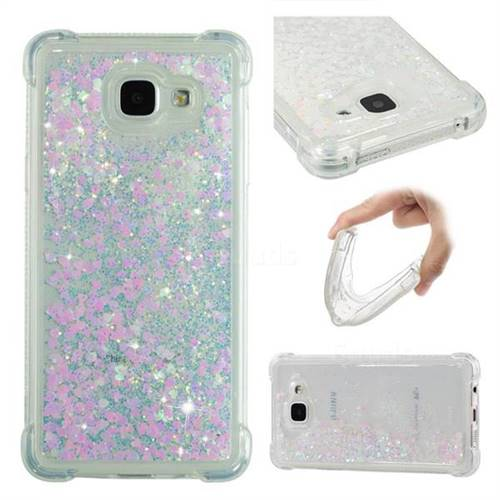 Dynamic Liquid Glitter Sand Quicksand Star TPU Case for Samsung Galaxy A5 2016 A510 - Pink