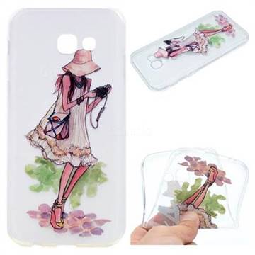 Travel Girl Super Clear Soft TPU Back Cover for Samsung Galaxy A5 2017 A520