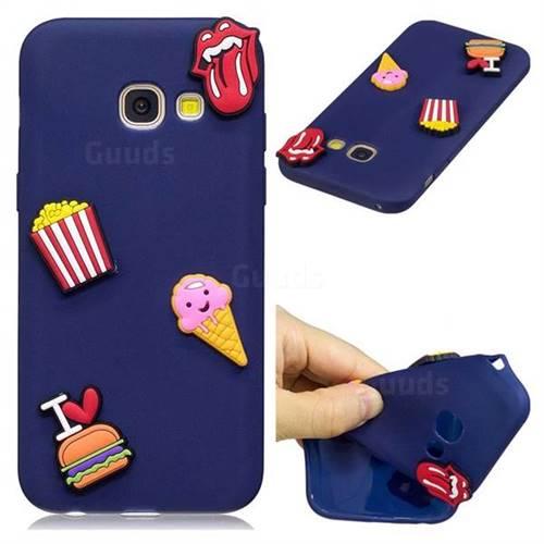 I Love Hamburger Soft 3D Silicone Case for Samsung Galaxy A5 2017 A520