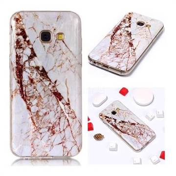 new styles 65b35 ca79e White Crushed Soft TPU Marble Pattern Phone Case for Samsung Galaxy A5 2017  A520