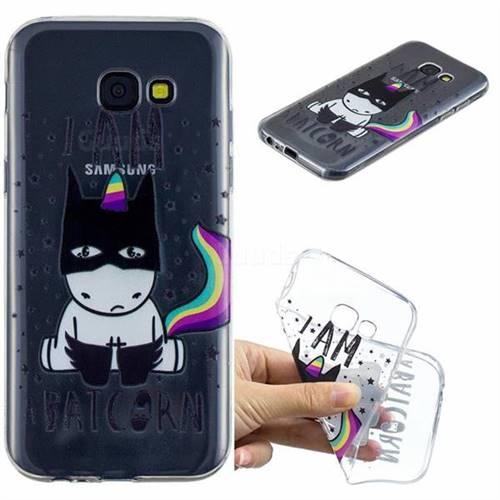 Batman Clear Varnish Soft Phone Back Cover for Samsung Galaxy A5 2017 A520