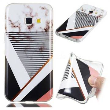 detailed look c9680 37e8d Pinstripe Soft TPU Marble Pattern Phone Case for Samsung Galaxy A5 2017 A520