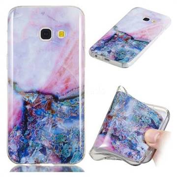 Purple Amber Soft TPU Marble Pattern Phone Case for Samsung Galaxy A5 2017 A520