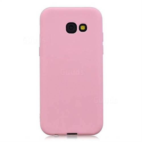 premium selection a5ce3 334f5 Candy Soft Silicone Protective Phone Case for Samsung Galaxy A5 2017 A520 -  Dark Pink