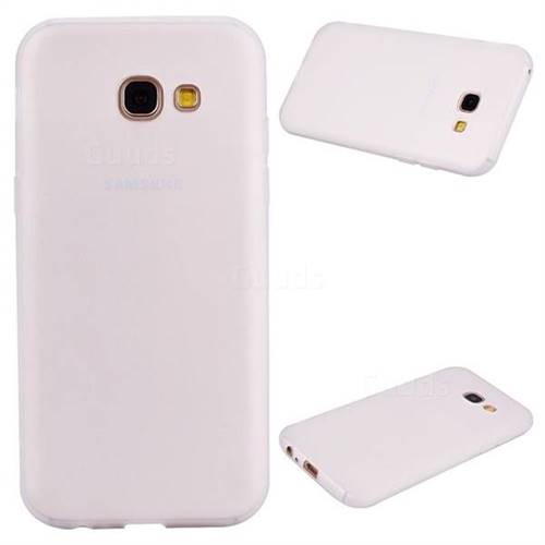 the latest 67023 53bf0 Candy Soft Silicone Protective Phone Case for Samsung Galaxy A5 2017 A520 -  White