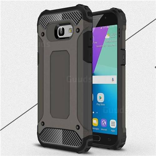King Kong Armor Premium Shockproof Dual Layer Rugged Hard Cover for Samsung Galaxy A5 2017 A520 - Bronze