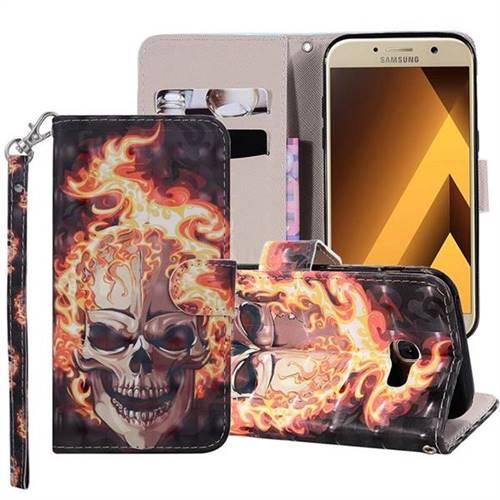 samsung a5 2017 skull phone case