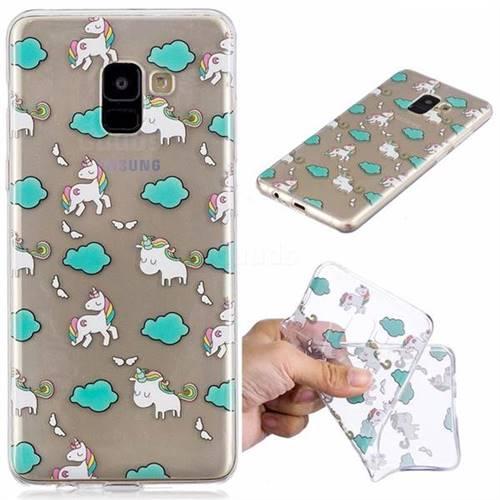 Cloud Horse Super Clear Soft TPU Back Cover for Samsung Galaxy A8 2018 A530