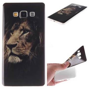finest selection a6878 4b161 Lion Face IMD Soft TPU Back Cover for Samsung Galaxy A7 2015 A700